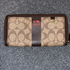 Coach long style wallet